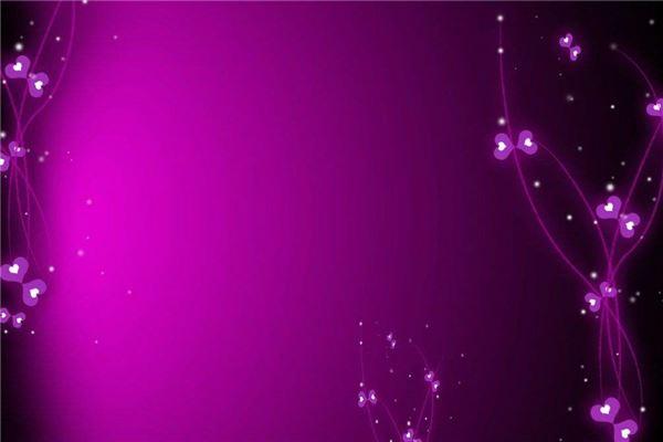 梦见紫色:人际关系好,能力强