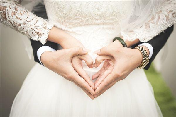 怎么通过手相看婚姻好坏?