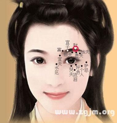 女人脸上长痣破解图 相学女人脸上长痣视频