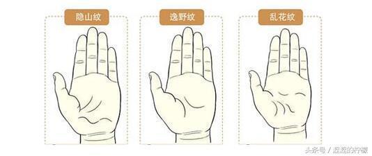 相法看手相:各种手掌纹路寓意解析,找到你的手纹了吗?